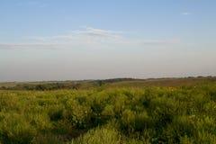 Ландшафт прерии на охраняемой природной территории Neal Смита Стоковые Изображения