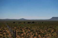 Ландшафт прерии, освободившееся государство, Южная Африка Стоковые Изображения RF