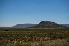 Ландшафт прерии, освободившееся государство, Южная Африка Стоковые Фото