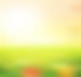 Ландшафт, предпосылка нерезкости конспекта для веб-дизайна Стоковые Фотографии RF