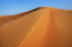 Ландшафт предпосылки дюн Стоковые Изображения