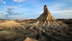 Ландшафт пустыни в Испании стоковое фото
