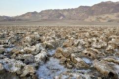 Ландшафт пустыни в Death Valley стоковое фото