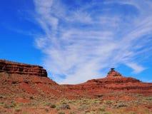 Ландшафт пустыни мексиканской шляпы на солнечный день Стоковое фото RF