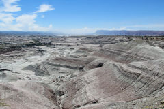 Ландшафт пустыни национального парка Ischigualasto стоковое фото