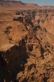 Ландшафт пустыни Judaean Стоковые Фотографии RF
