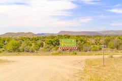 Ландшафт пустыни Namib в Намибии Стоковое фото RF