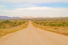 Ландшафт пустыни Namib в Намибии Стоковое Изображение RF