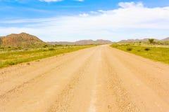 Ландшафт пустыни Namib в Намибии Стоковые Изображения RF