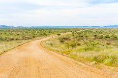 Ландшафт пустыни Namib в Намибии Стоковые Фото