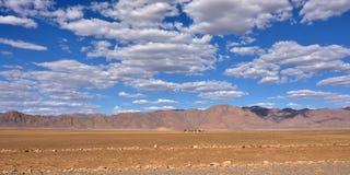 Ландшафт пустыни Namib, Намибия Стоковое Изображение