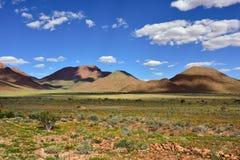 Ландшафт пустыни Namib, Намибия Стоковое Изображение RF