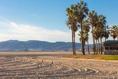 Ландшафт пляжа Венеции, Лос-Анджелеса Стоковые Изображения RF
