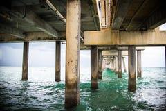 Ландшафт пляжа Майами южный стоковое фото rf