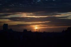 Ландшафт района города Стоковое фото RF