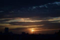 Ландшафт района города Стоковые Изображения RF