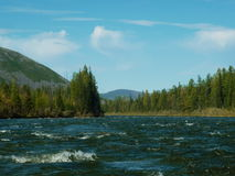Ландшафт, река Стоковое Фото