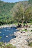 Ландшафт реки стоковое фото rf