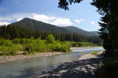 Ландшафт реки Стоковое Изображение RF
