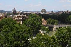 Ландшафт Рима Стоковое Изображение RF