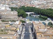 Ландшафт Рима Стоковая Фотография
