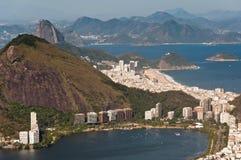 Ландшафт Рио-де-Жанейро сценарный Стоковая Фотография