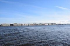 Ландшафт Санкт-Петербурга Стоковое Изображение RF