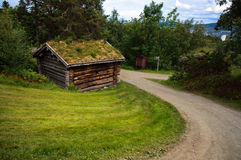 Ландшафт сельской местности с старое старое историческим Стоковая Фотография RF