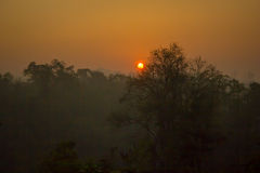 Ландшафт, солнечный Стоковое фото RF