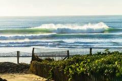 Ландшафт спорт океана пляжа Стоковое фото RF