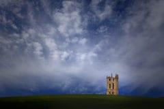 Ландшафт старой башни мнимый Стоковые Изображения RF