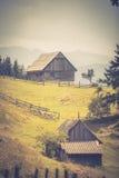 Ландшафт страны в области Трансильвании Стоковое Изображение