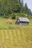 Ландшафт страны в области Трансильвании Стоковая Фотография RF