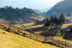 Ландшафт страны горы Стоковые Изображения RF