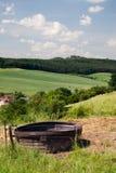 Ландшафт с моча ведром Стоковая Фотография RF