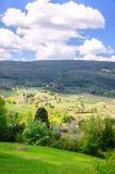 Ландшафт Тосканы, Италия, Европа Стоковое Изображение RF