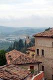 Ландшафт Тосканы Стоковая Фотография RF