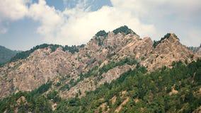 Ландшафт утесистых гор Стоковое Фото