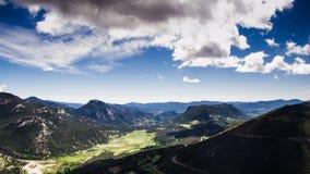 Ландшафт утесистых гор Стоковое Изображение