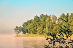 Ландшафт утра весны Стоковые Фотографии RF