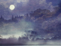 Ландшафт фантазии леса фантазии Стоковое Фото