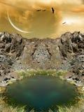 Ландшафт фантазии стоковое фото