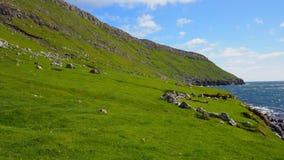 Ландшафт Фарерских островов Стоковые Изображения