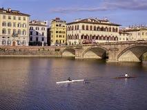 Ландшафт Флоренса Стоковое фото RF