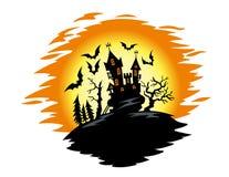 Ландшафт хеллоуина Стоковое Изображение