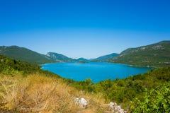 Ландшафт Хорватии Стоковая Фотография
