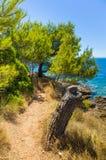Ландшафт Хорватии Стоковая Фотография RF