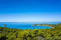 Ландшафт Хорватии Стоковые Изображения