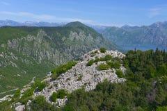 Ландшафт Черногории Стоковое Изображение