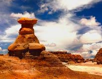 Ландшафт чужеземца, горные породы, Юта, Стоковые Изображения RF